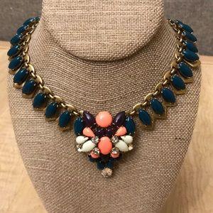 J.Crew enamel statement necklace